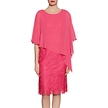 Buy Gina Bacconi Lace Dress And Chiffon Cape Online at johnlewis.com