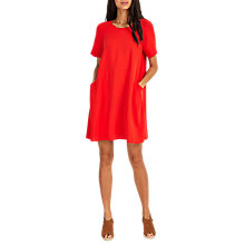 Buy Phase Eight Zoe Swing Dress, Red Online at johnlewis.com