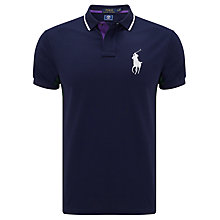 Buy Polo Ralph Lauren Wimbledon 2017 Ball Boy Polo Shirt, French Navy Online at johnlewis.com