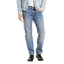 Buy Levi's 502 Regular Taper Jeans, Dennis Online at johnlewis.com