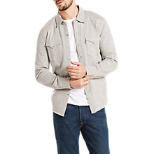 Buy Levi's Long Sleeve Knit Barstow Shirt Online at johnlewis.com