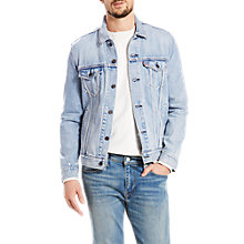Buy Levi's The Trucker Denim Jacket, Stonebridge Online at johnlewis.com