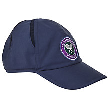 Buy Polo Ralph Lauren Wimbledon Cross Court Cap, French Navy Online at johnlewis.com