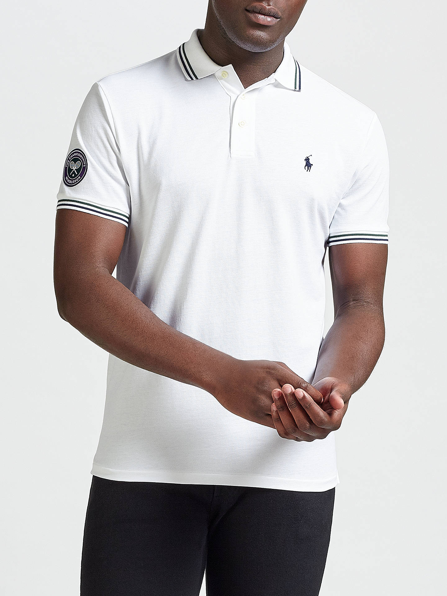 dc277b61 Polo Ralph Lauren Wimbledon Polo Shirt at John Lewis & Partners