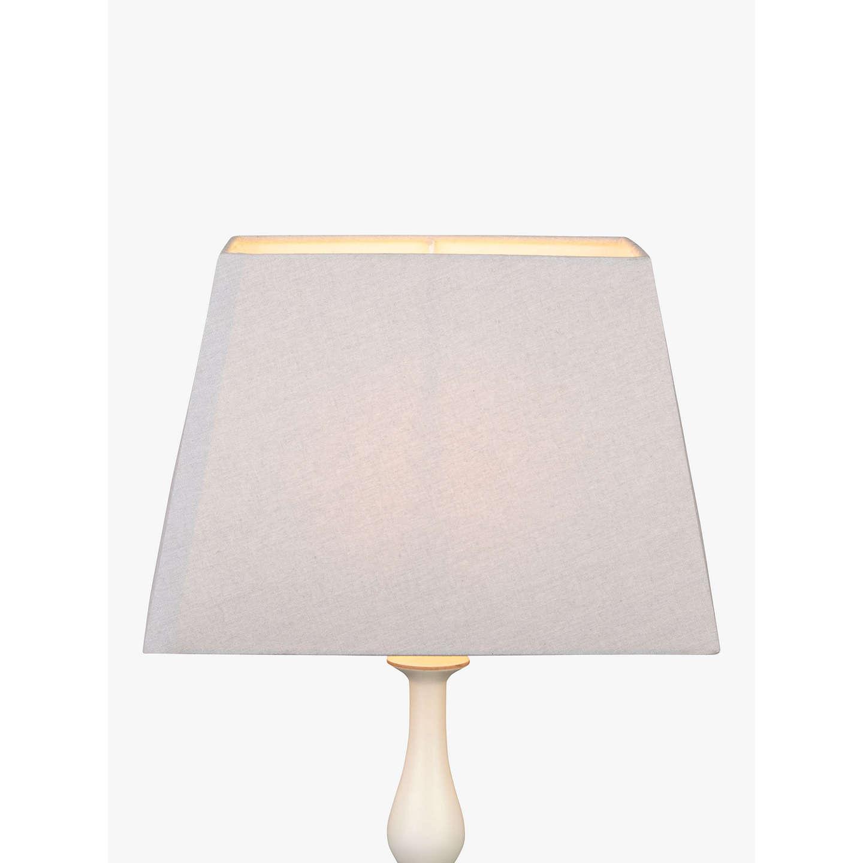 John lewis chrissie rectangular lampshade at john lewis buyjohn lewis chrissie rectangular lampshade light grey 20cm online at johnlewis aloadofball Gallery