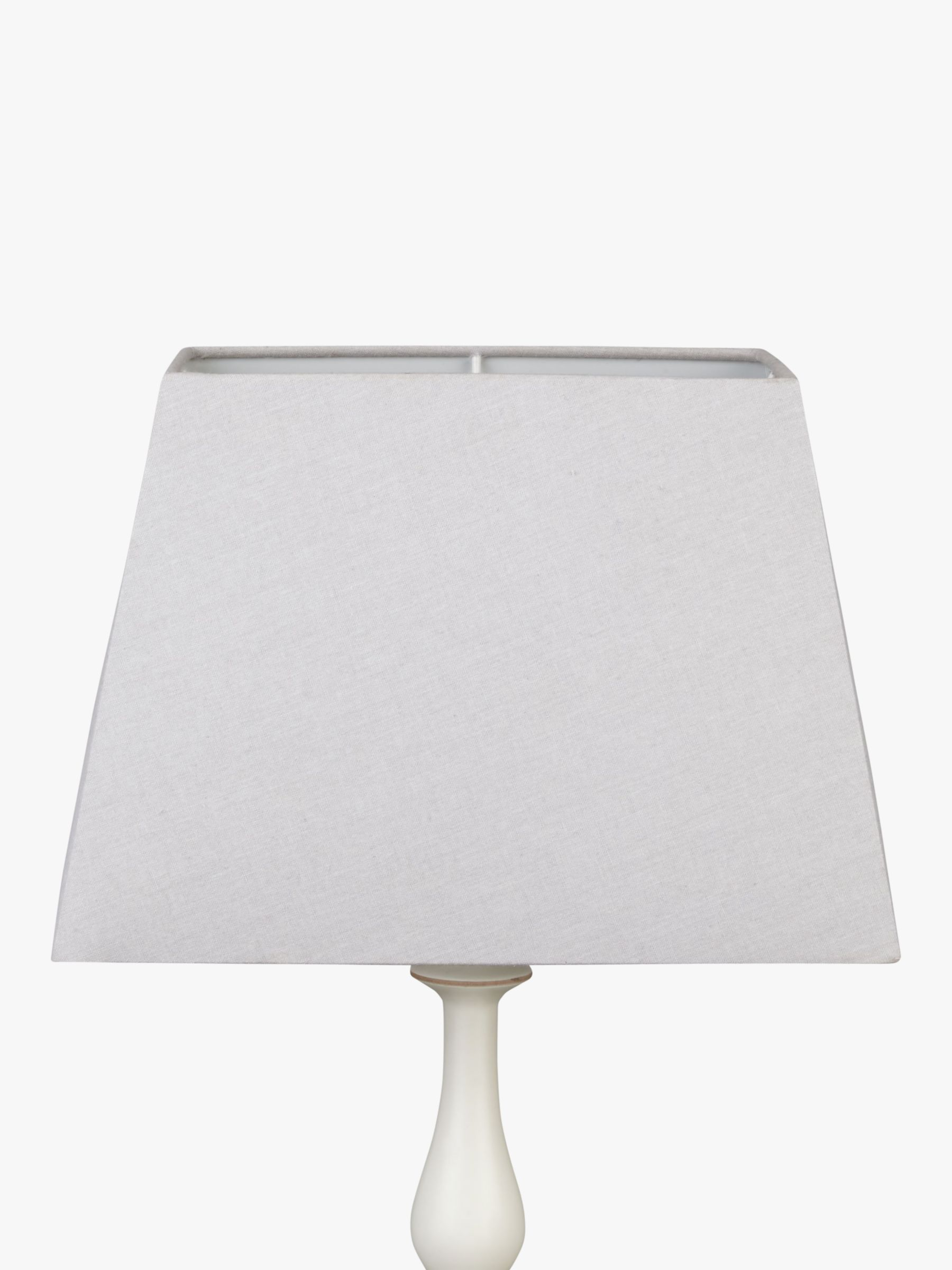 Picture of: John Lewis Partners Chrissie Rectangular Lampshade At John Lewis Partners