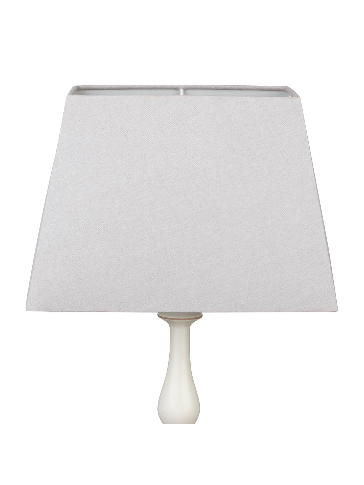 john lewis partners chrissie rectangular lampshade at john lewis