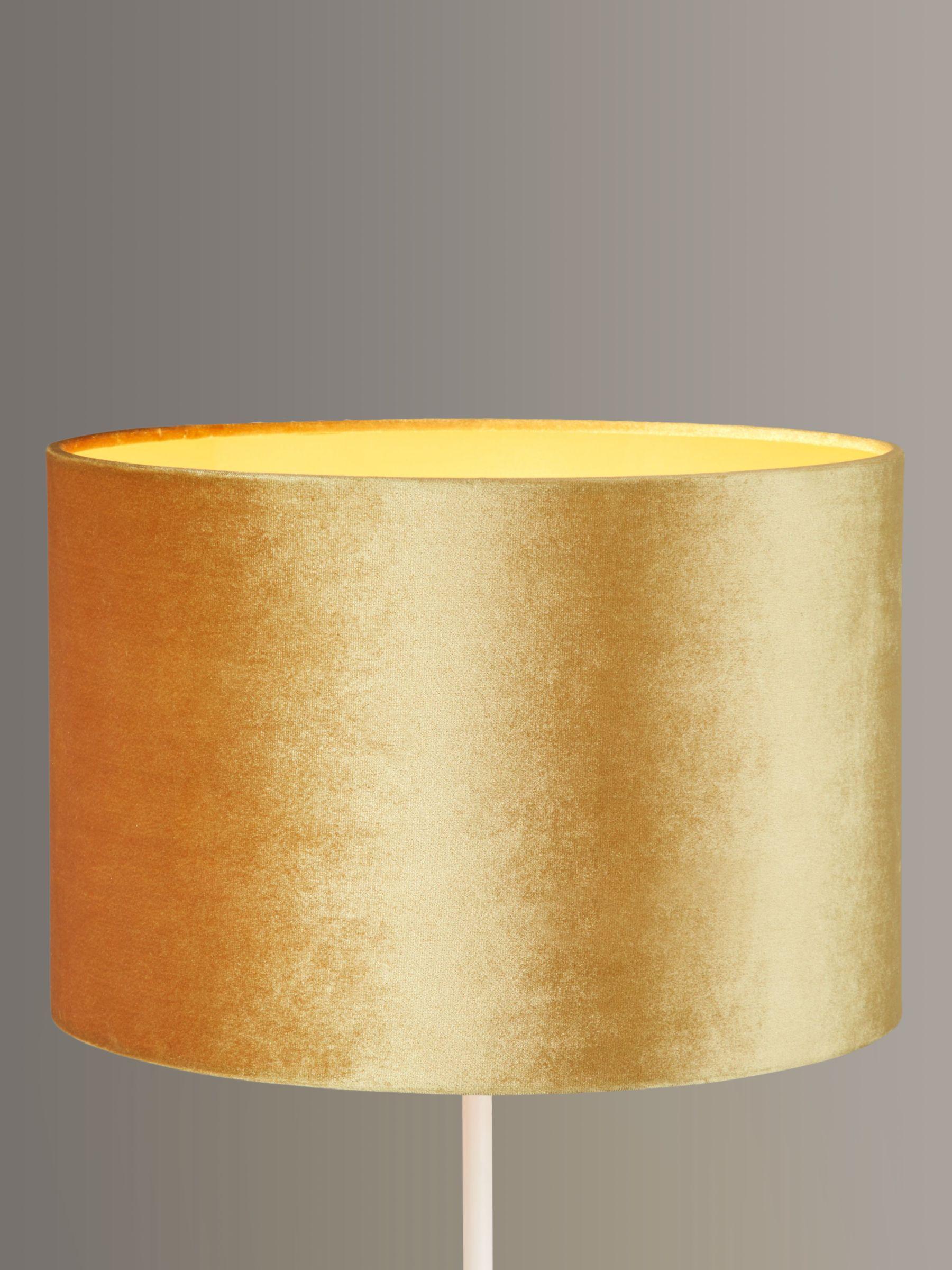Gold Lampshades John Lewis Partners, Modern Lamp Shades Uk