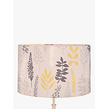 Buy John Lewis Liv Drum Lampshade, Citrine / Grey Online at johnlewis.com