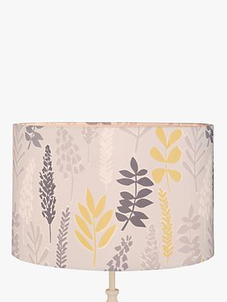 John Lewis & Partners Liv Drum Lampshade, Citrine / Grey