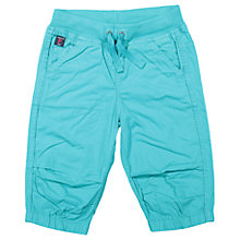 Buy Polarn O. Pyret Children's Shorts, Green Online at johnlewis.com