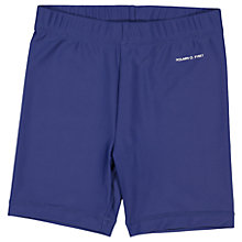 Buy Polarn O. Pyret Children's UV Swim Shorts, Blue Online at johnlewis.com