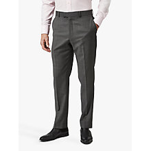 Buy Chester by Chester Barrie Semi Milled Wool Cashmere Tailored Suit Trousers, Charcoal Online at johnlewis.com