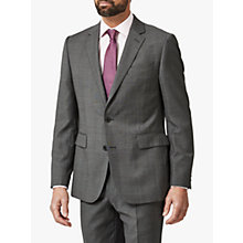 Buy Chester by Chester Barrie Semi Milled Wool Cashmere Tailored Suit Jacket, Charcoal Online at johnlewis.com