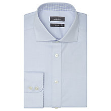 Buy John Lewis Non Iron Semi Plain Regular Fit Shirt, Sky Blue Online at johnlewis.com