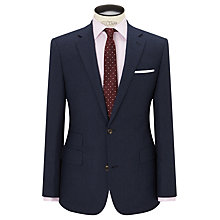 Buy Chester by Chester Barrie Semi Plain Milled Wool Tailored Suit Jacket, Navy Online at johnlewis.com