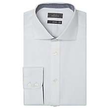 Buy John Lewis Non Iron Dobby Regular Fit Shirt, White Online at johnlewis.com