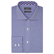 Buy John Lewis Non Iron Semi Plain XL Sleeve Tailored Fit Shirt Online at johnlewis.com