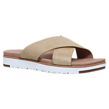 Buy UGG Kari Cross Strap Sandals Online at johnlewis.com