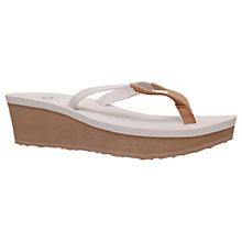 Buy UGG Ruby Wedge Heeled Flip Flops Online at johnlewis.com