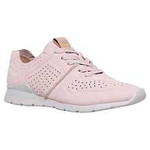 Buy UGG Tye Lace Up Trainers, Pink Online at johnlewis.com