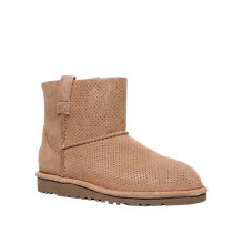 Buy UGG Classic Mini Perf Ankle Boots Online at johnlewis.com