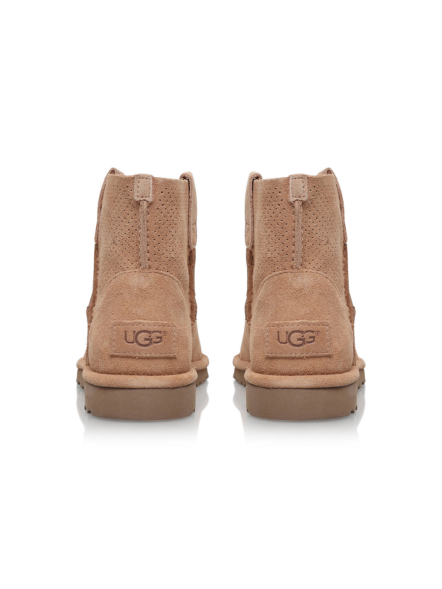 20e64bde5d8 UGG Classic Mini Perf Ankle Boots at John Lewis & Partners