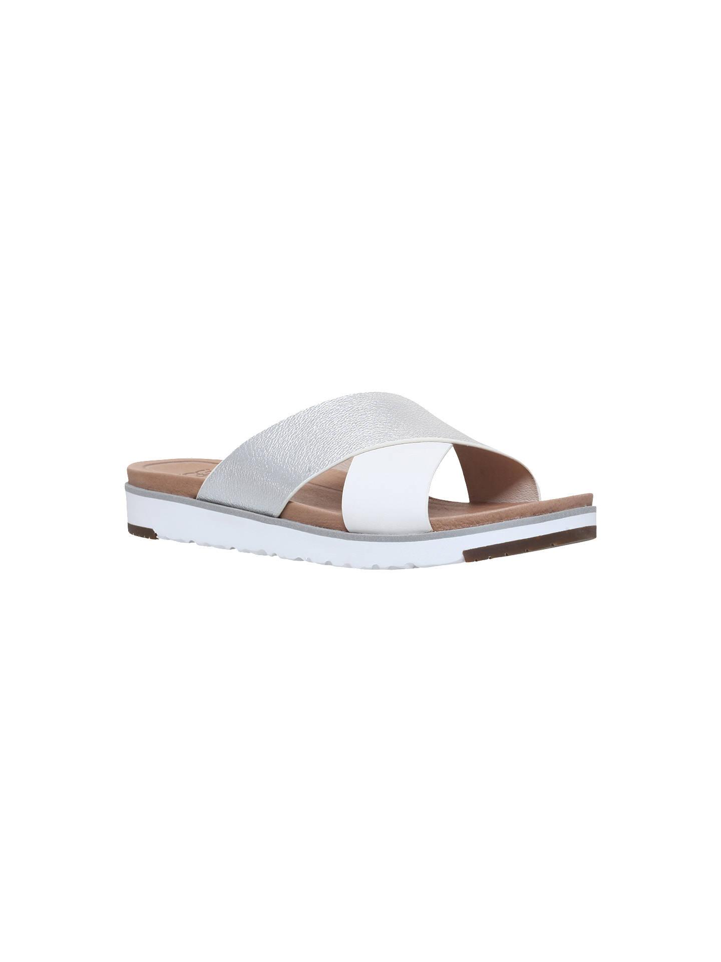 b36cb0727e3c UGG Kari Cross Strap Sandals at John Lewis   Partners