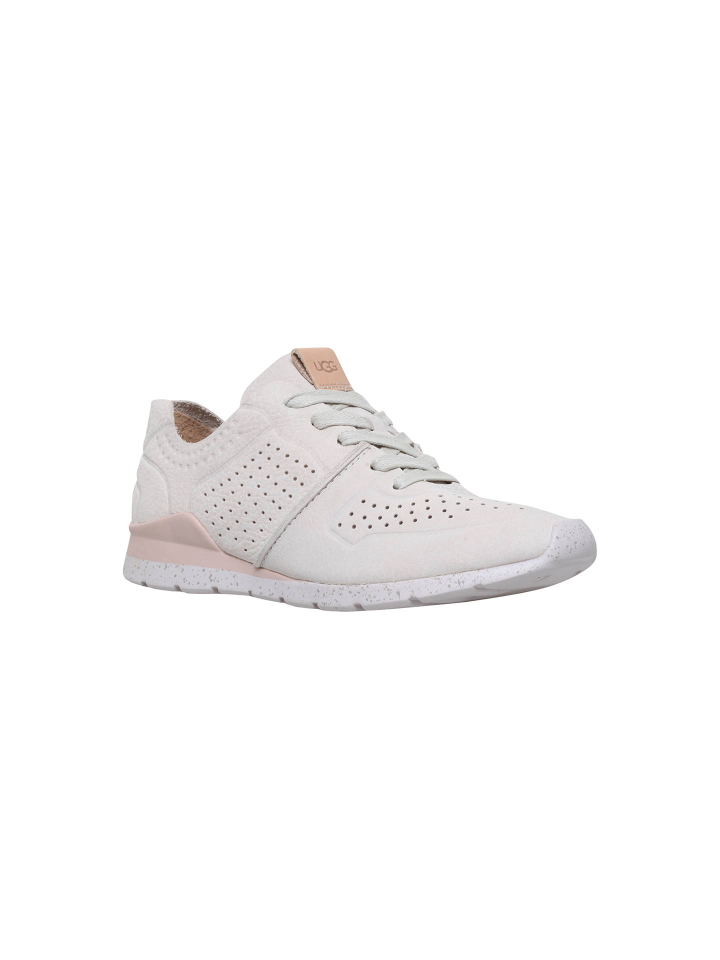 4887c6e6057 UGG Tye Lace Up Trainers, Winter White at John Lewis & Partners