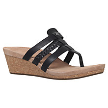 Buy UGG Maddie Wedge Heel Sandals Online at johnlewis.com