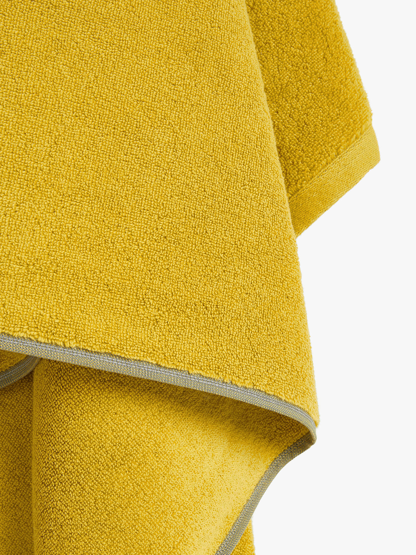 BuyHouse by John Lewis Quick Dry Face Cloth, Mustard Online at johnlewis.com