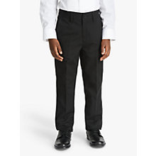 Buy John Lewis Heirloom Collection Boys' Tuxedo Trousers, Black Online at johnlewis.com