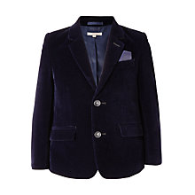 Buy John Lewis Heirloom Collection Boys' Velvet Jacket, Blue Online at johnlewis.com