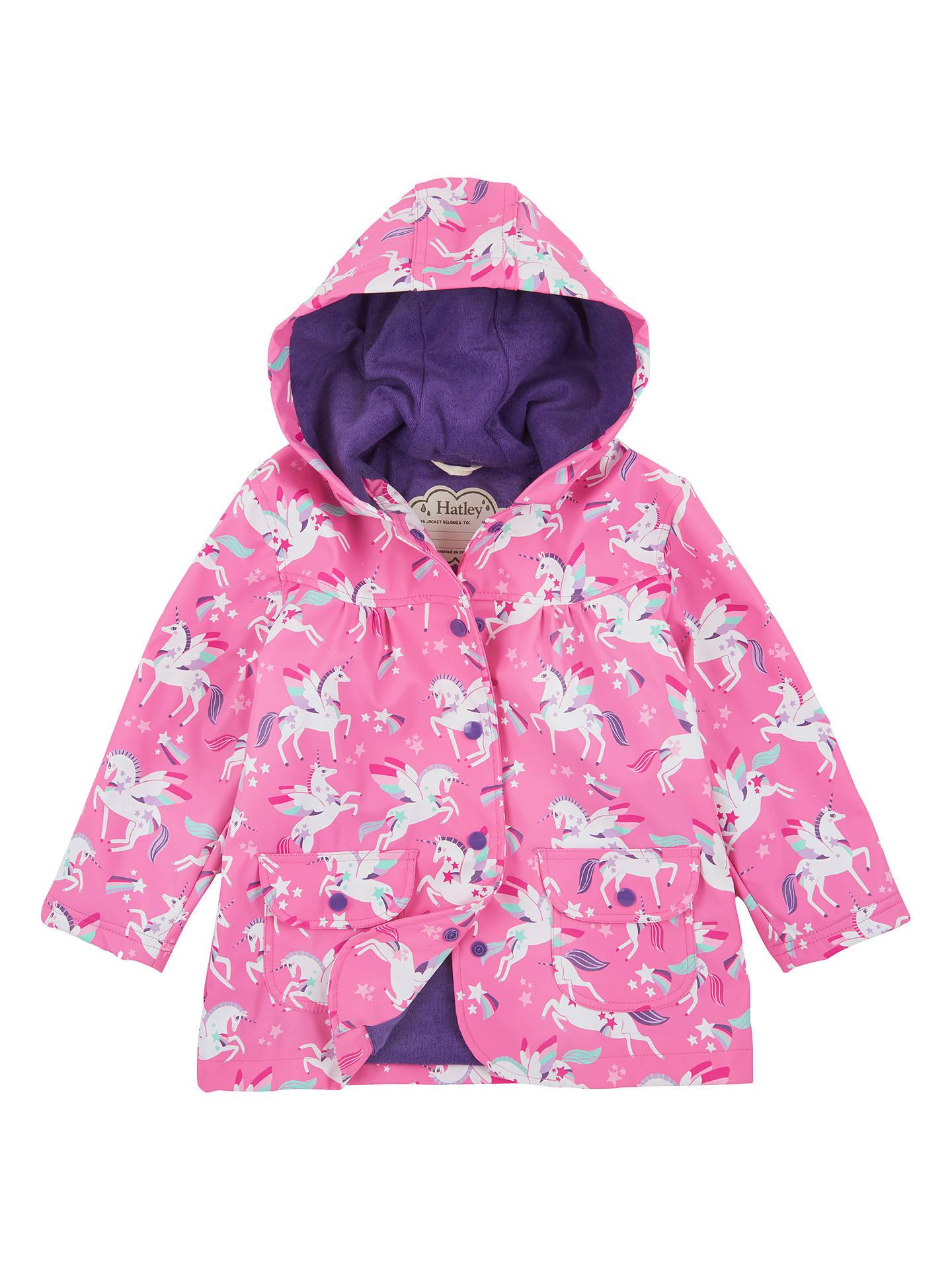 06ad3ce336ed Hatley Girls  Unicorn Print Raincoat