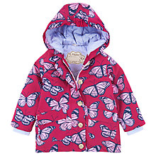 Buy Hatley Girls' Cotton Butterfly Coat, Pink Online at johnlewis.com