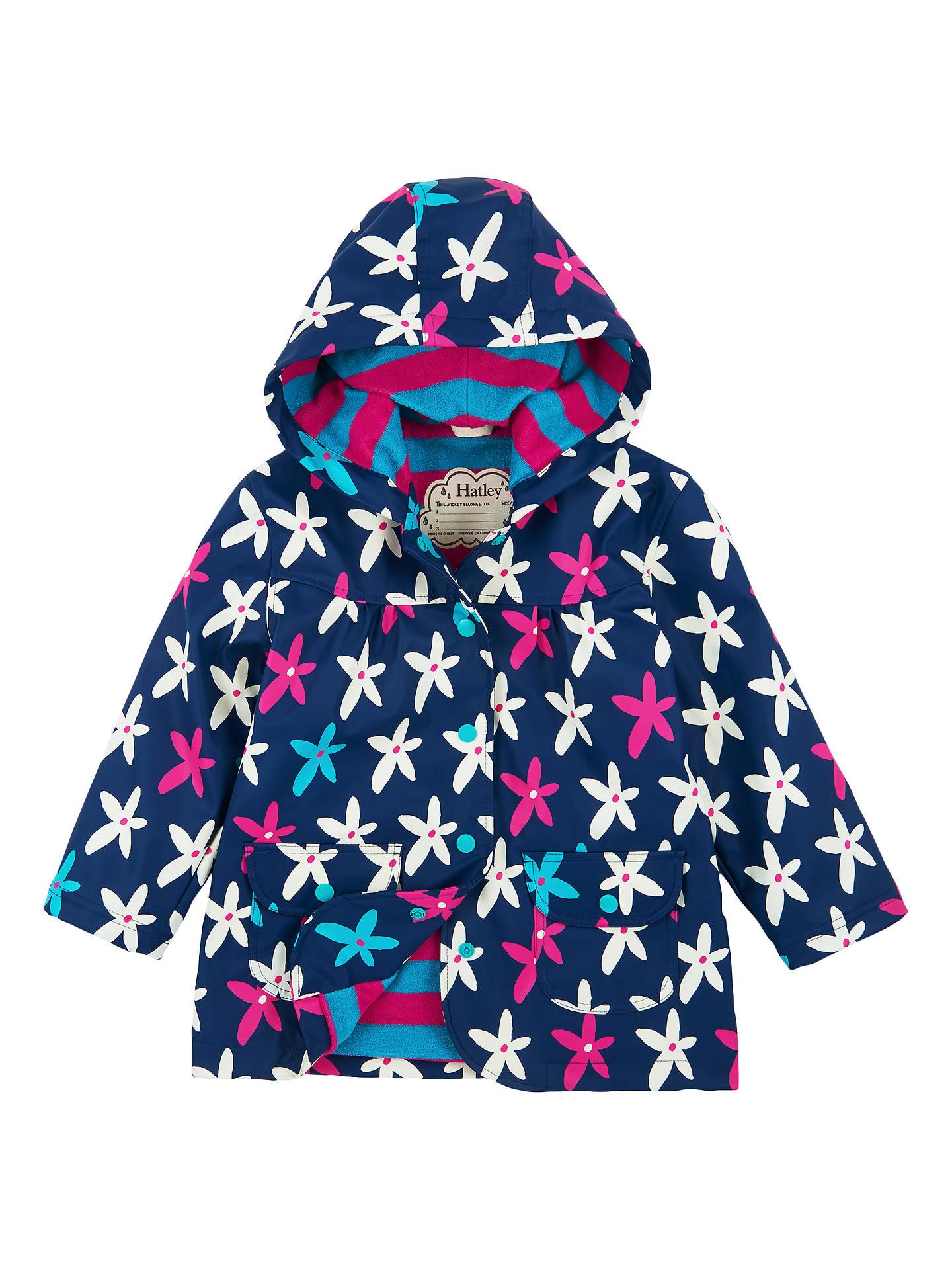 b4a39919d21b Hatley Girls  Flower Print Raincoat