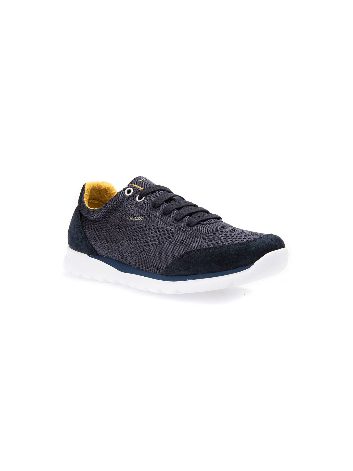 Geox Damian Trainers | Navy at John Lewis & Partners