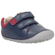 Buy Clarks Tiny Toby Double Rip Tape Shoes Online at johnlewis.com