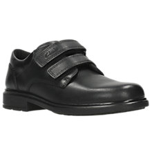 Buy Clarks Children's Remi Pace School Shoes, Black Online at johnlewis.com