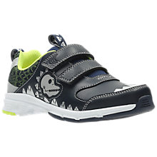 Buy Clarks Children's Pass Rex Trainers, Navy Online at johnlewis.com