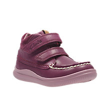 Buy Clarks Children's Cloud Mist First Shoes Online at johnlewis.com