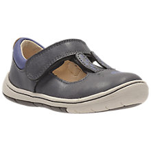 Buy Clarks Children's Amelio Glo First Shoes, Purple Online at johnlewis.com