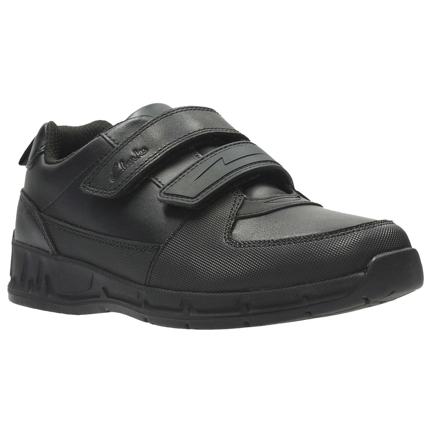 BuyClarks Children's Gloforms Maris Fire Junior School Shoes, Black, 13E  Online at johnlewis.