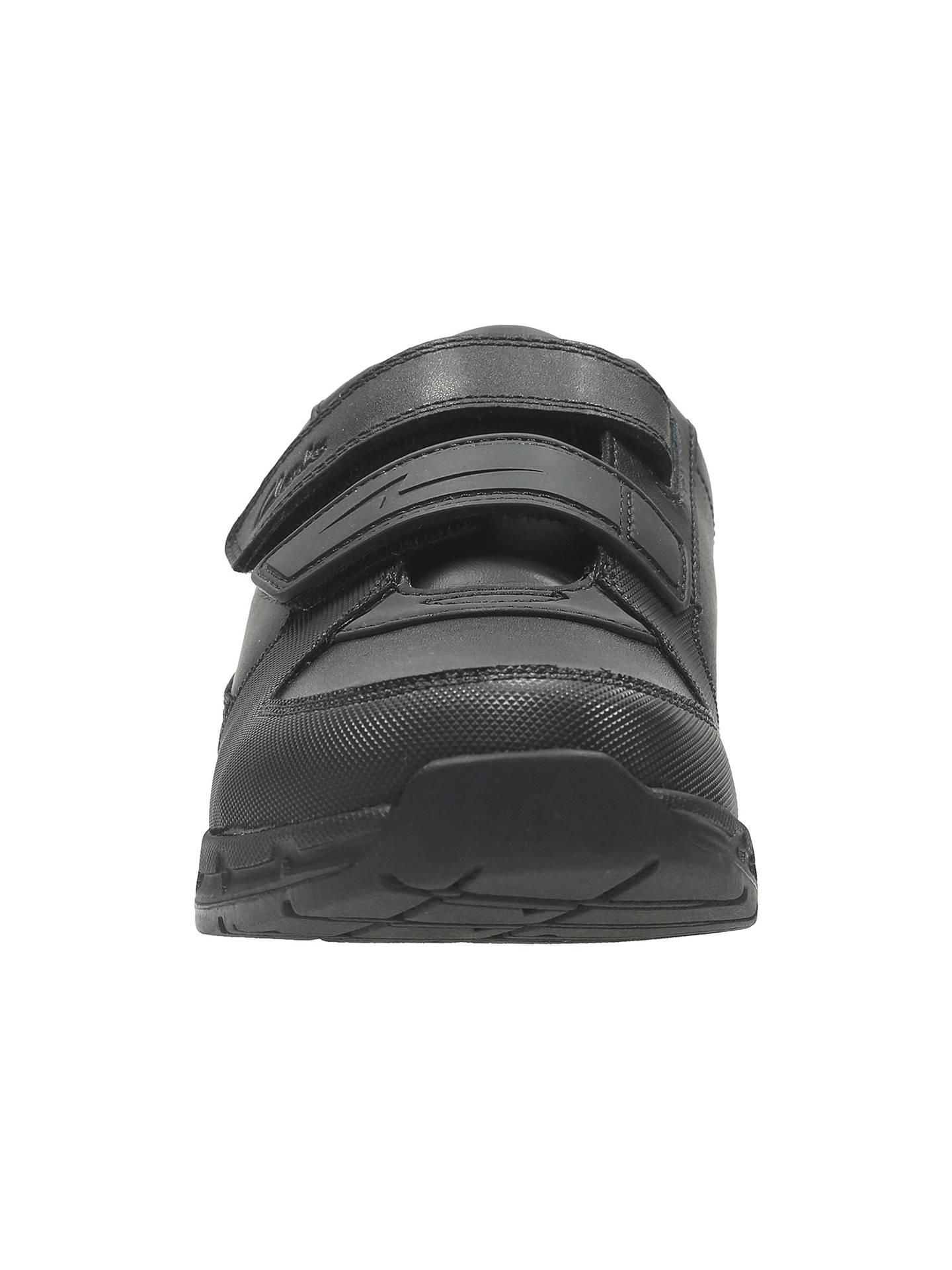 0d52344c ... Buy Clarks Children's Gloforms Maris Fire Junior School Shoes, Black,  13E Online at johnlewis ...