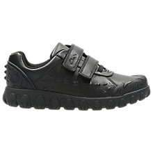 Buy Clarks Children's Tyrex Ride Shoes, Black Online at johnlewis.com
