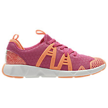 Buy Clarks Children's Gloforms Luminous Glo Trainers, Pink Online at johnlewis.com