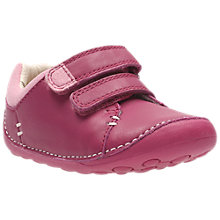 Buy Clark's Children's Little Hen Shoes, Pink Online at johnlewis.com