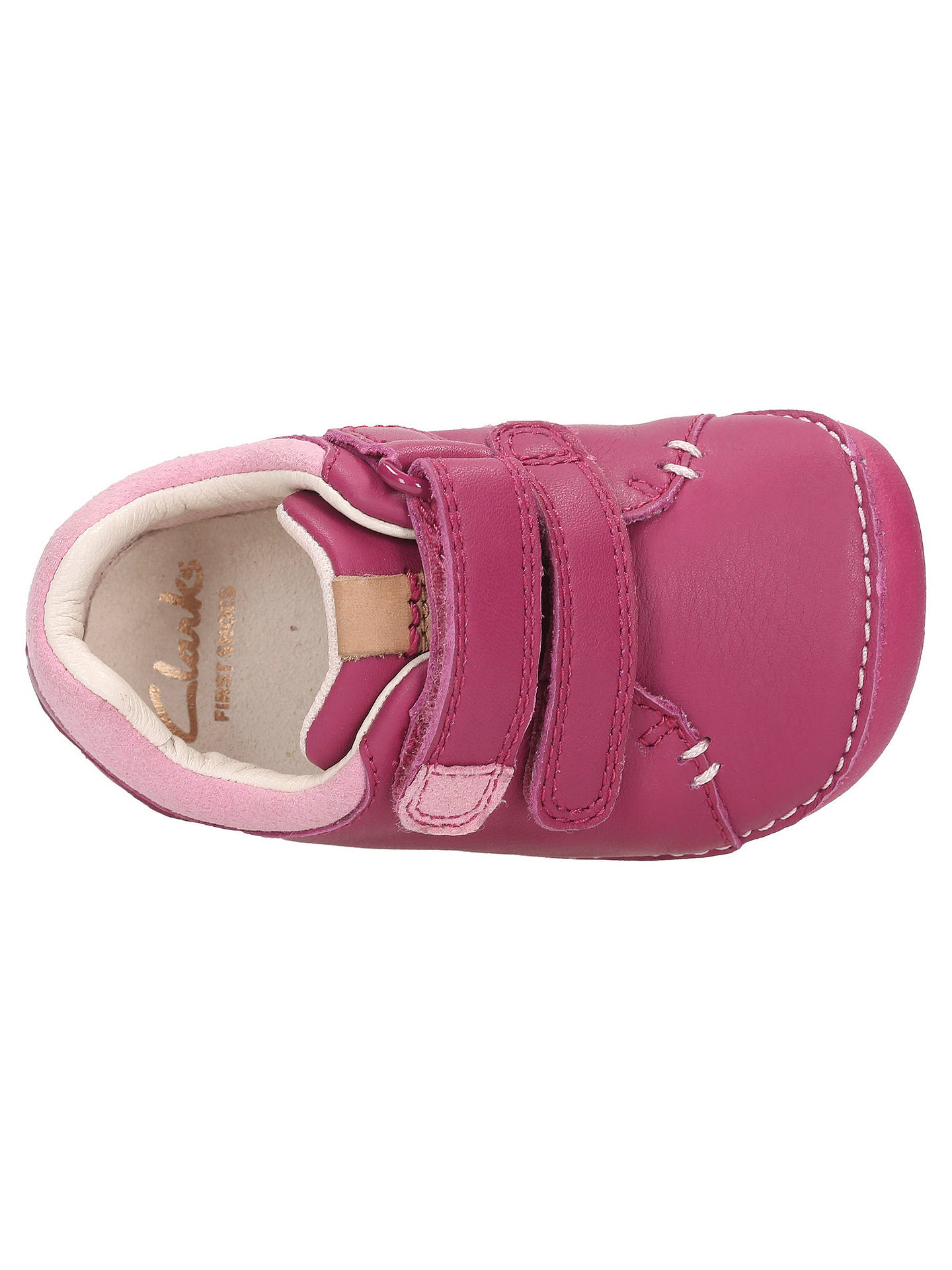 "Girls First Shoes By Clarks Casual Shoes /""Little Hen/"""