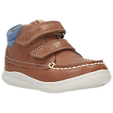 Buy Clarks Children's Cloud Tuku First Shoes Online at johnlewis.com