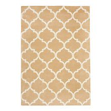 Buy John Lewis Trellis Rug, Sand Online at johnlewis.com